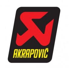 Akrapovič sticker