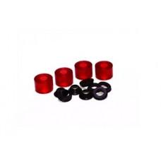 Elastomer kit red/hard