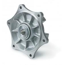 Sprocket wheel support